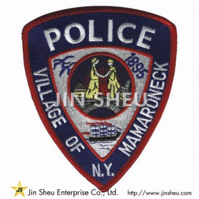 Personalized Police Patches