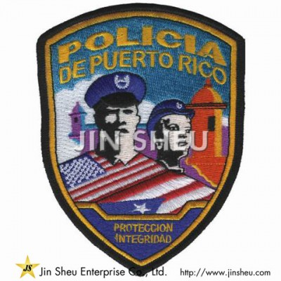 Promotional Police Patches
