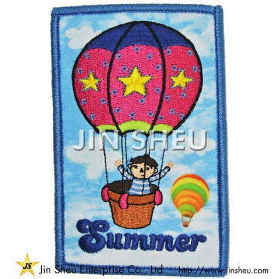 Customized Dye Sublimation Printing Patches - Customized Heat Transfer Printing Patches