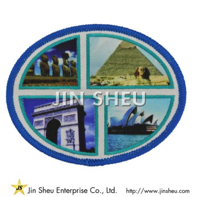 Custom Dye Sublimated Patch - Personalized Heat Transfer Printing Patches