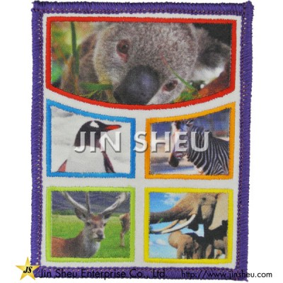 Custom Dye Sublimation Patches - Custom Dye Sublimation Patches