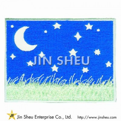 Luminous Embroidery Patches - Promotional Luminous Patches