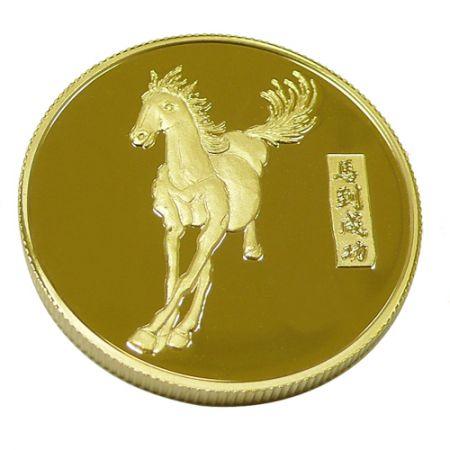 Mirror Effect Souvenir Coins