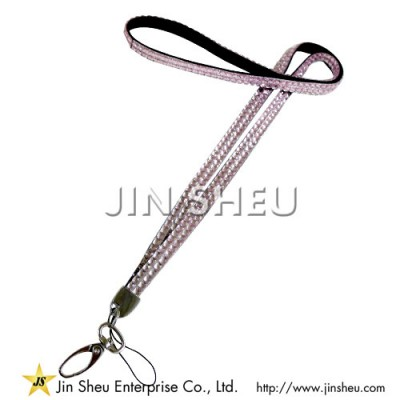 Customized Rhinestone Lanyards - Customized Rhinestone Lanyards