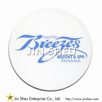 Customized Paper Coaster - Customized Paper Coaster