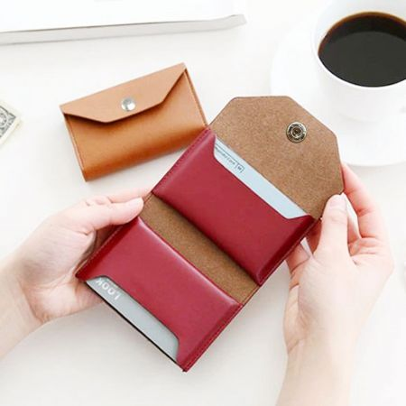 custom card holder wallet