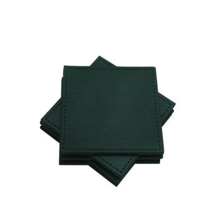 square leathr mat ser