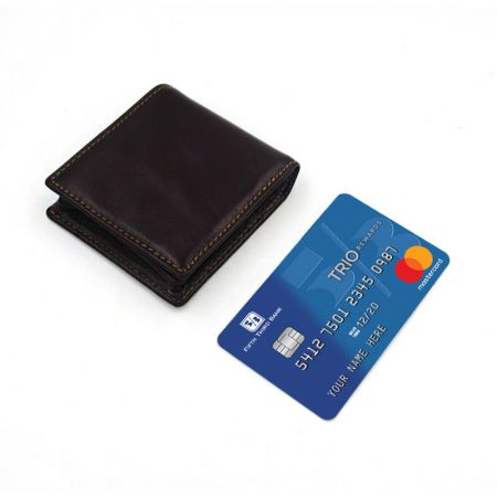 square leather coin purses