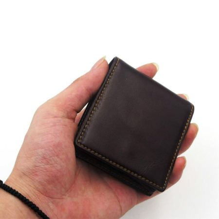 square small pocket coin bag