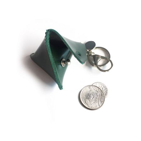 portable triangle coin case