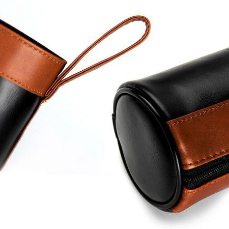 leather bottle cover holder