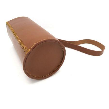 common size leather drink bottle sleeve holder