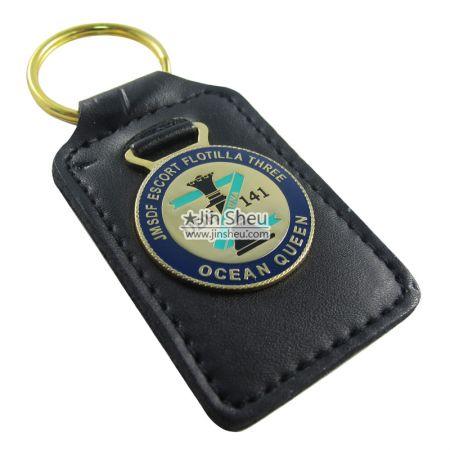 Leather Key Holders - Rectangle Leather Key Holders