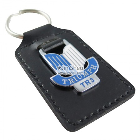 Customized Leather Keyrings - Customized Car Leather Keyrings