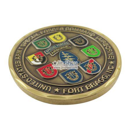 Military Commemorative Coin