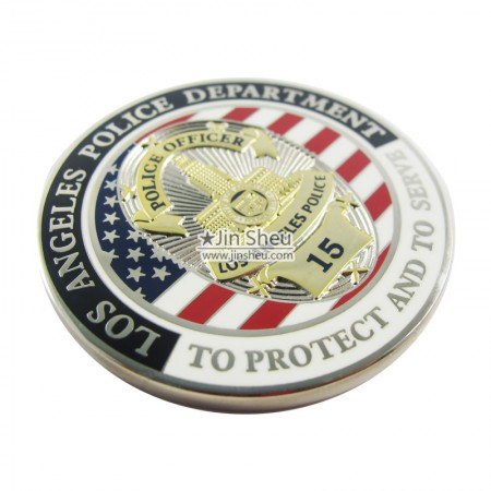 Police Officer Memorial Coins