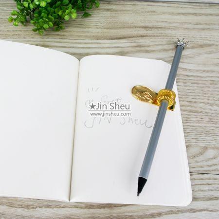 Pen Holder Clips - Spring Clip Pen Holder