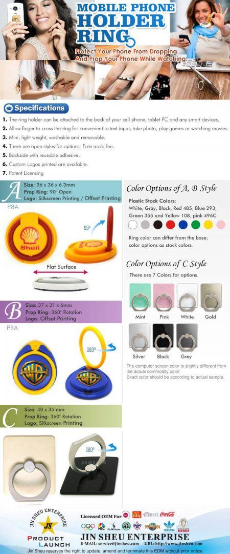 Mobile Holder Ring - mobile holder ring EDM