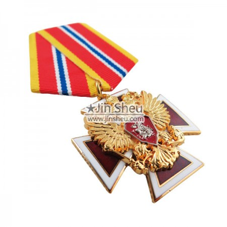 multiple layers military medals