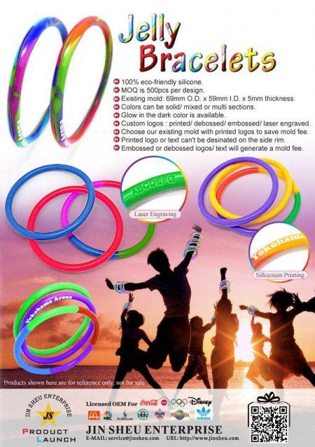 Jelly Bracelets - Jelly Bracelets