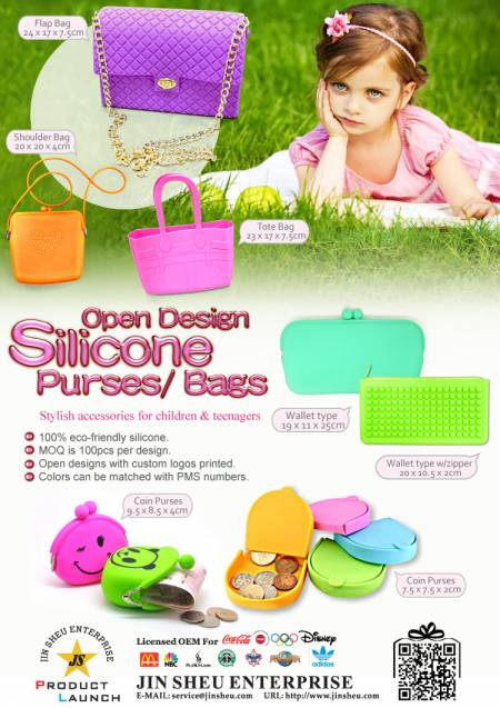 Open Design Silicone Purses/ Bags - Open Design Silicone Purses/ Bags