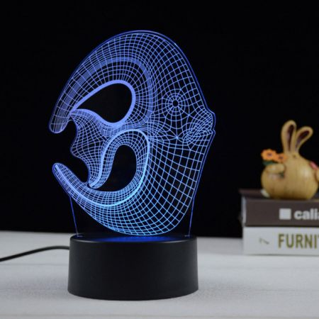 Tropical Fish 3D LED night lamp