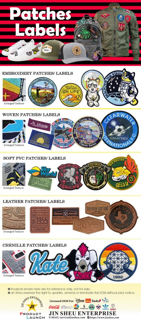 Patches & Labels - Custom Patches and Labels