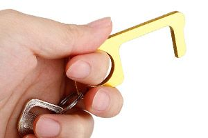 Deuropener sleutelhanger en stylus