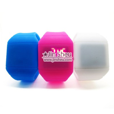 Colorful Jelly Style Cute Silicone LED Watch - Colorful Jelly Style Cute Silicone LED Watch
