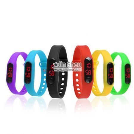 LED Silicone Watch Bracelet - LED Silicone Watch Bracelet