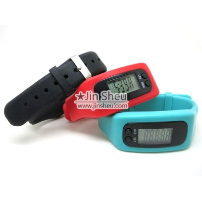 Silicone Pedometer Sport LED Watch - Silicone Pedometer Sport LED Watch