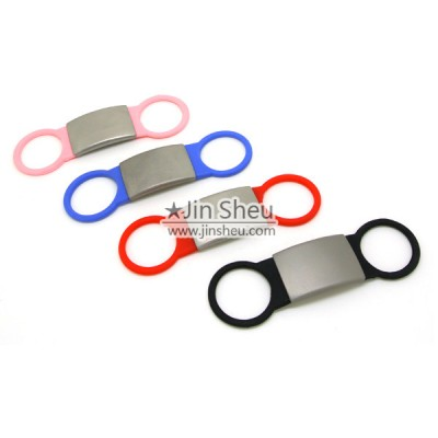 Silicone Pet ID Tag - Colorful Pet Collar Silicone ID Tags