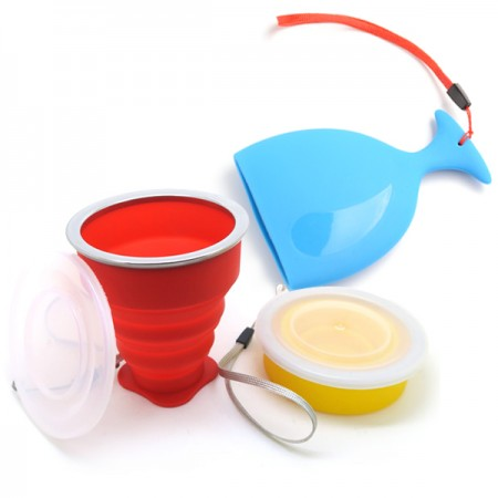 Silicone Portable Cup - Portable Silicone Drinking Cup