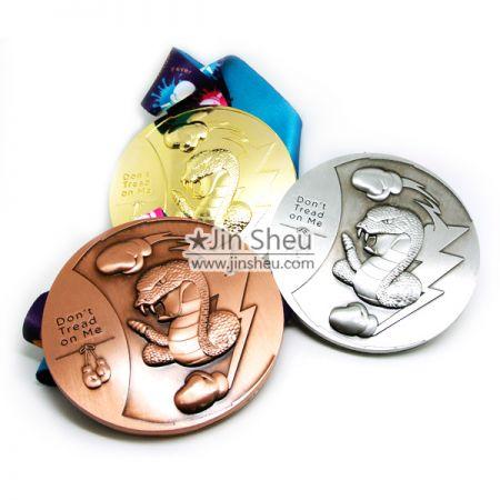 Metal Sound Medal - sound 3D medal