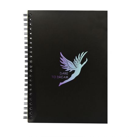 custom Spiral Notebook - Personalized notebook stationery