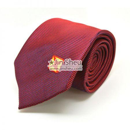 Men Tie with Embroidery Logos - Custom Embroidery Logos on Necktie
