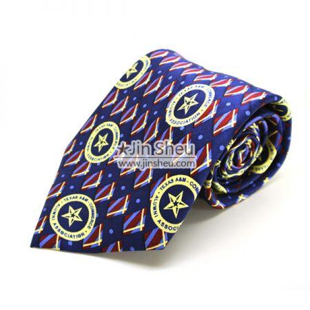 Necktie with Printing Logos - Logo Printing Necktie