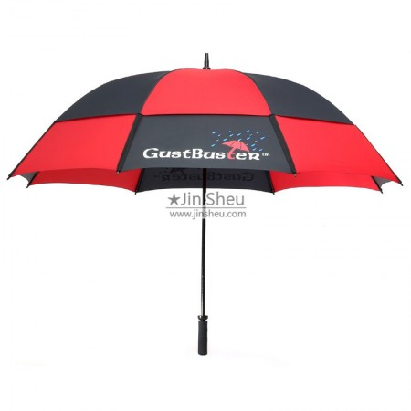 Golf umbrella - Golf umbrella with logo printing
