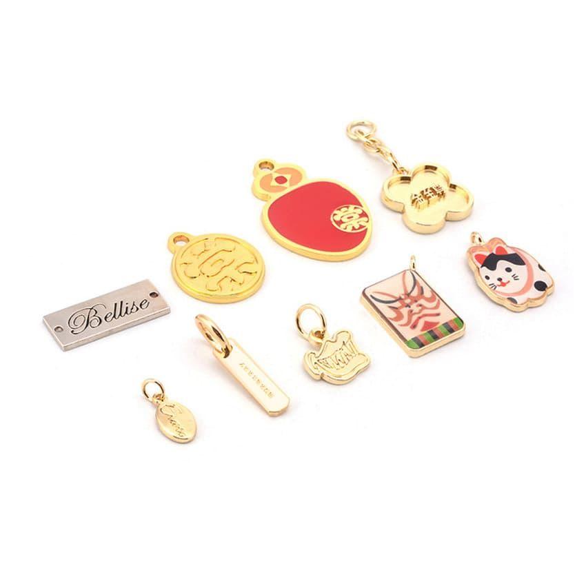 Various metal tags designs