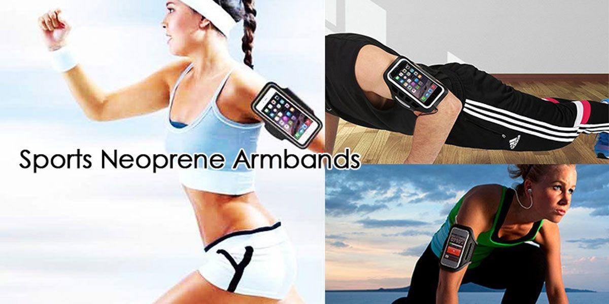 custom mobile phone armbands