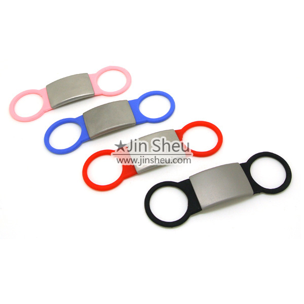Colorful Pet Collar Silicone ID Tags