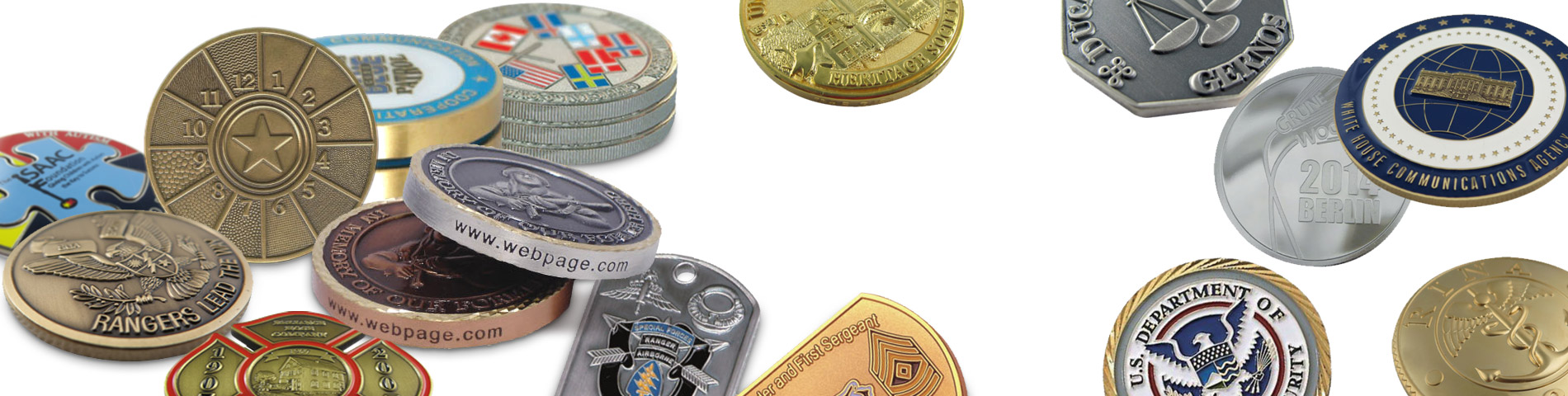 Custom made challenge coins