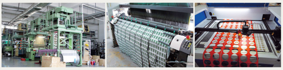 woven patch factory