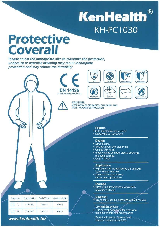 Uso diario personal de productos de prevención de epidemias.