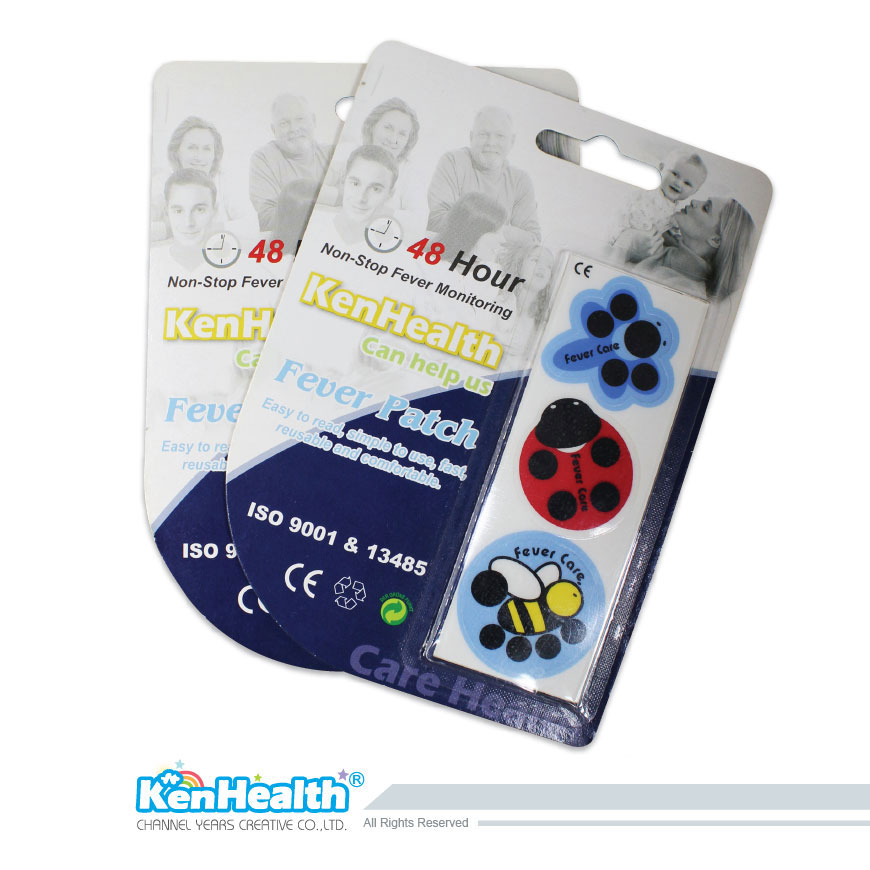 Fever Patch Sticker Insect - The forehead temperature strip for forehead temperature measurement.