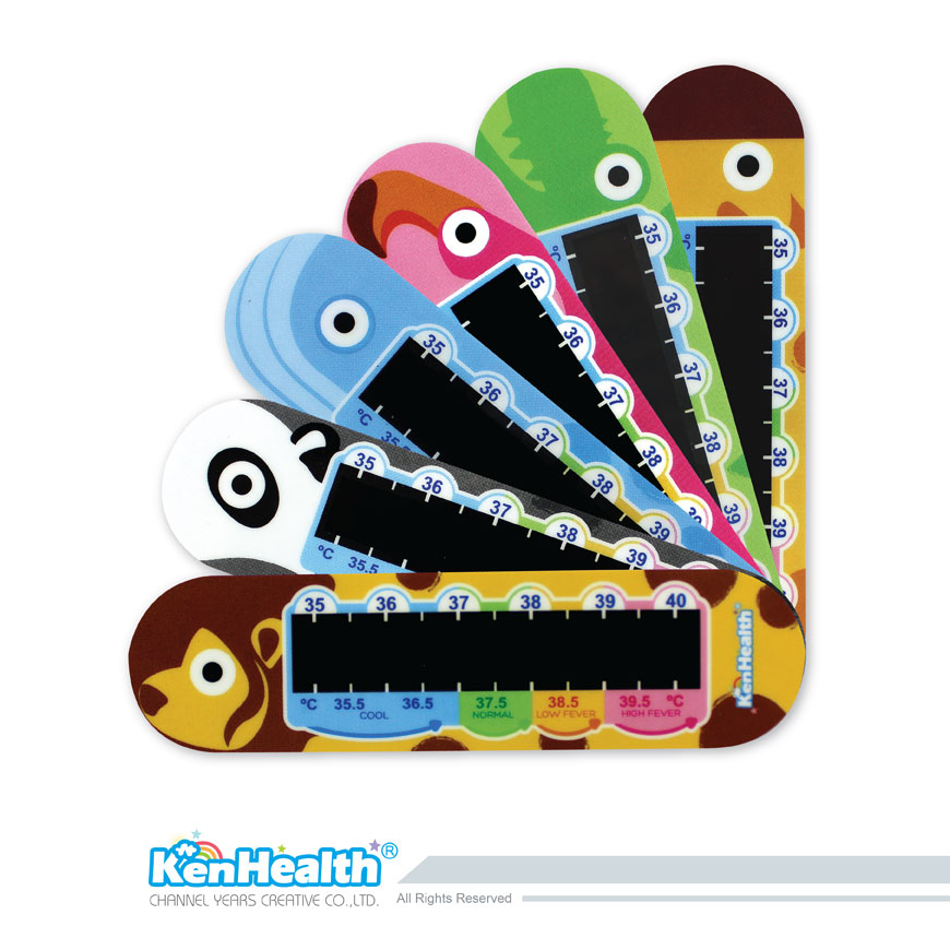 Forehead Thermometer Strip animal - The forehead temperature strip for forehead temperature measurement.