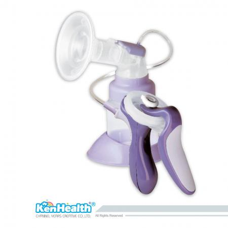 Manual Breast Pump one-handed - Help mom collect breast milk to feed baby.