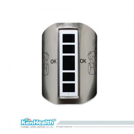Thermomètre à biberon - Mesurez la température du lait à tout moment pour éviter de brûler le bébé.