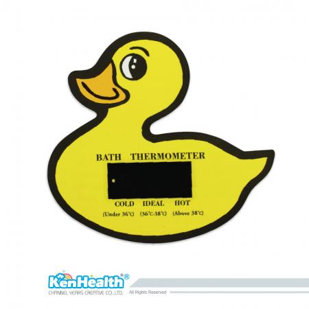 Bath Thermometer Card