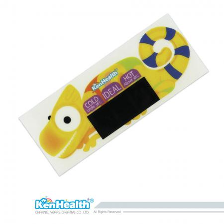 Bath Thermometer Sticker (Chameleon)